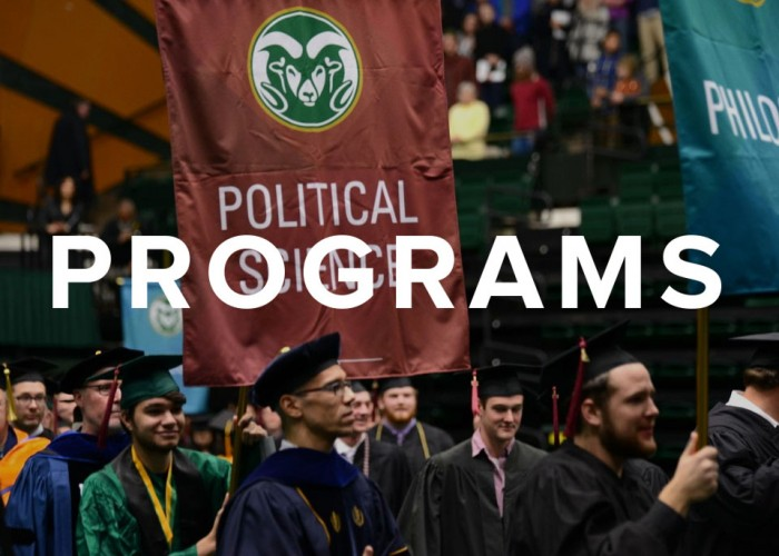 B.A. in Political Science with flexible degree options.