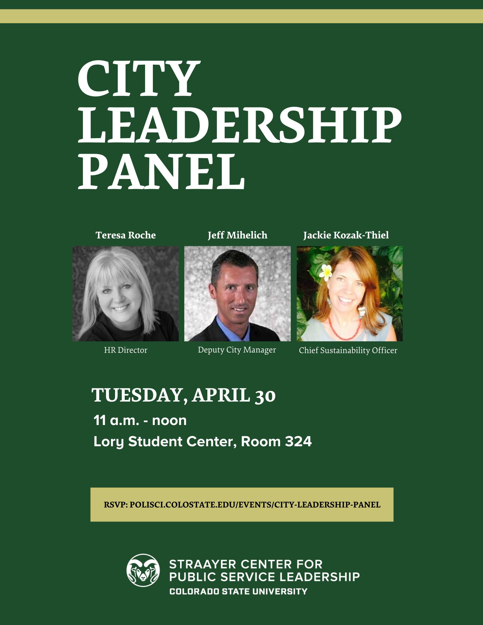 City Leadership Panel