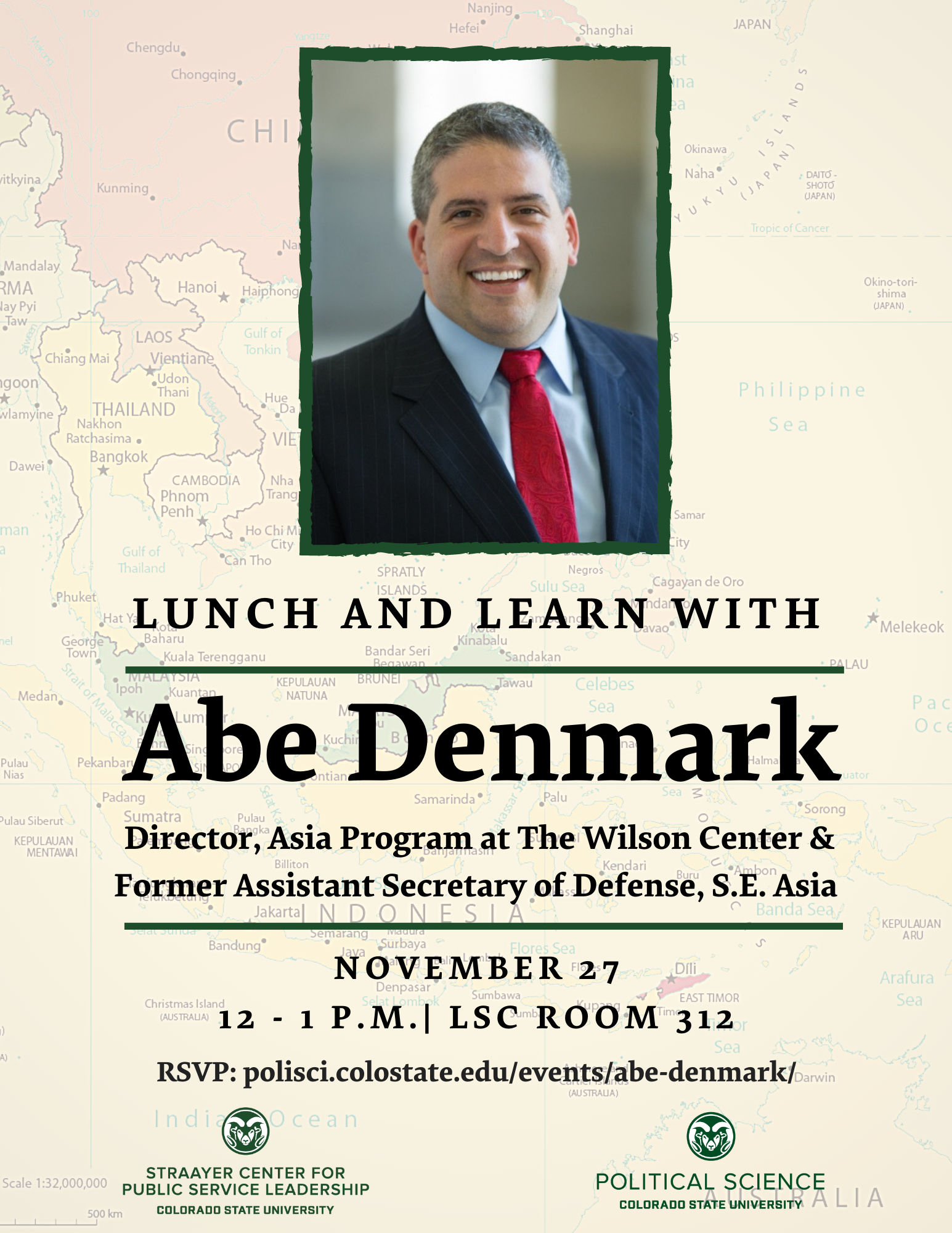 Lunch and Learn with Abe Denmark
