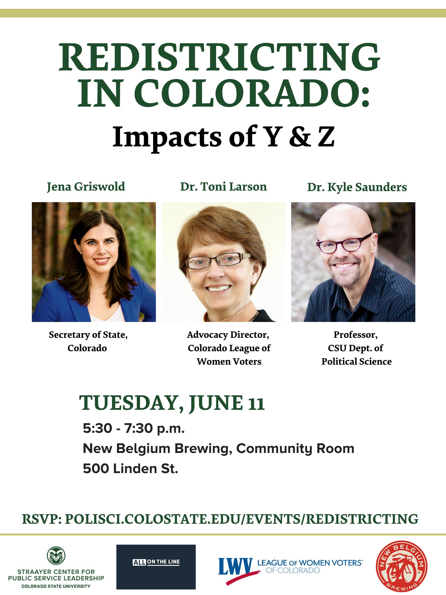 Redistricting in Colorado